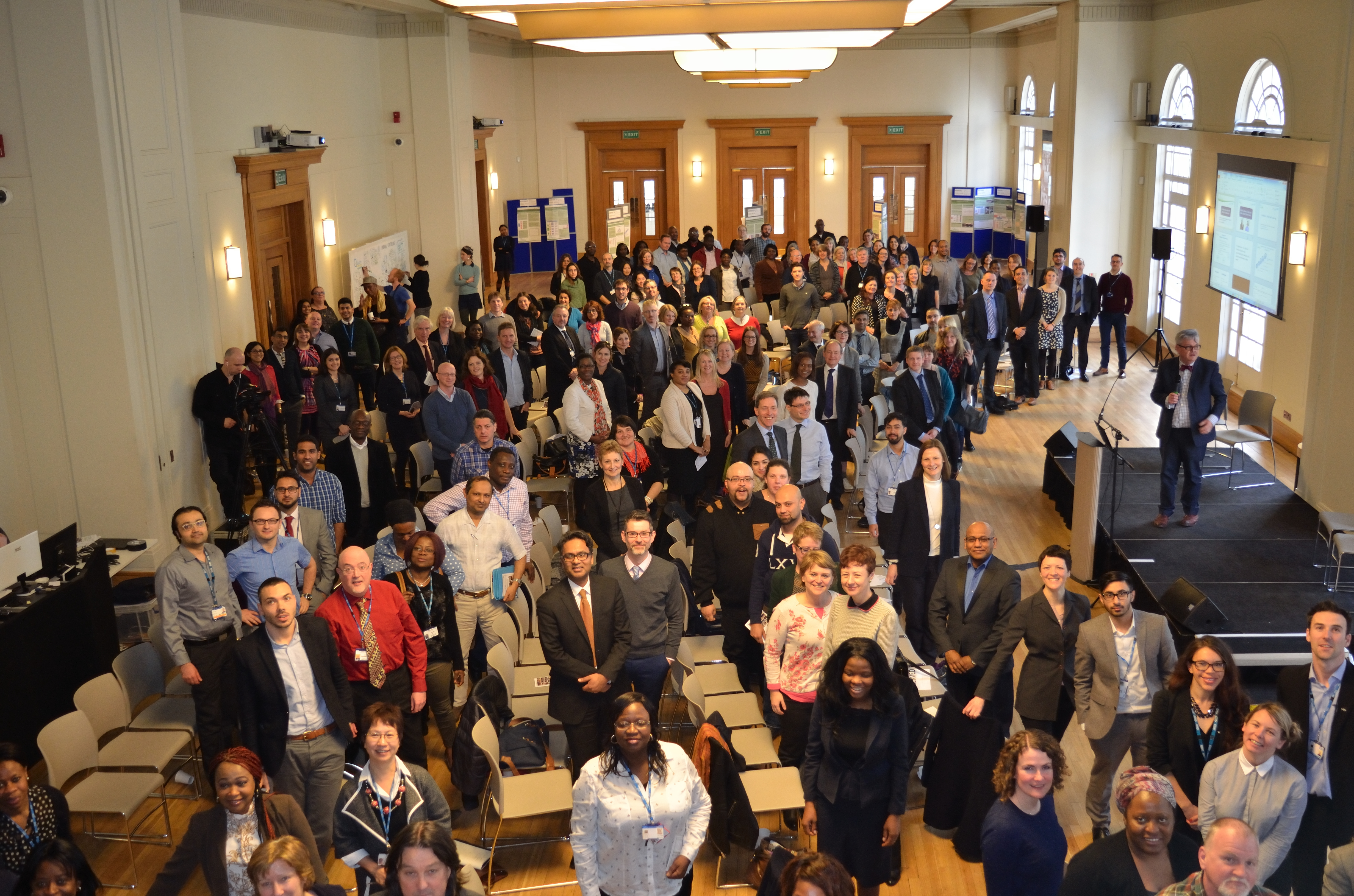 QI Conference delegates - 10 March 2015