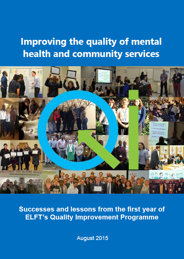 QI evaluation front cover