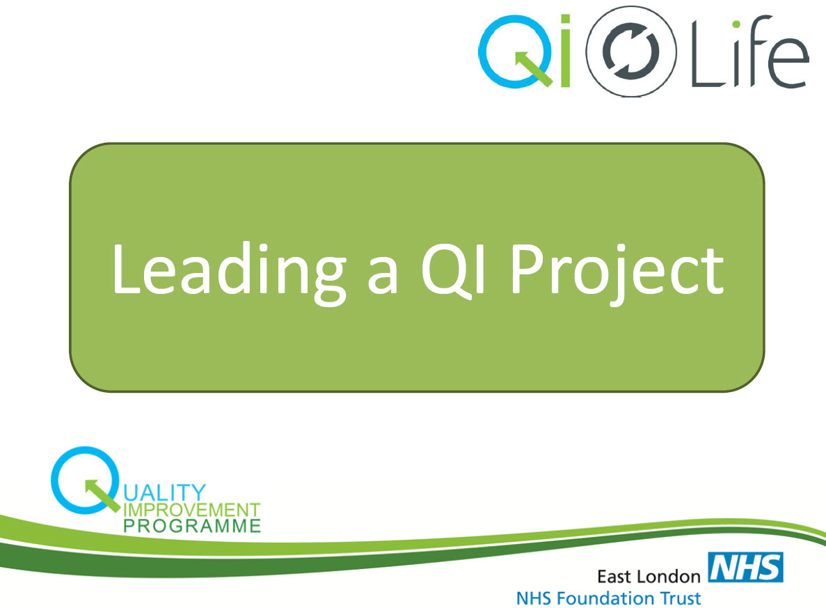 Leading a QI Project